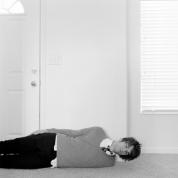 Man On Floor With One Arm